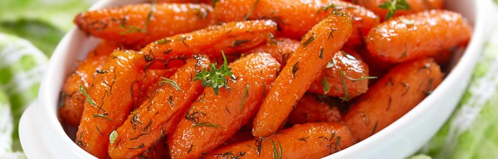 Recette carottes nouvelles au miel et au thym blog oleomac - Que cuisiner avec des carottes ...