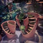 Récupération de pots de fleurs