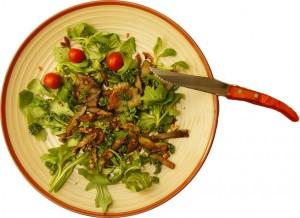 Salade-de-Pleurotes