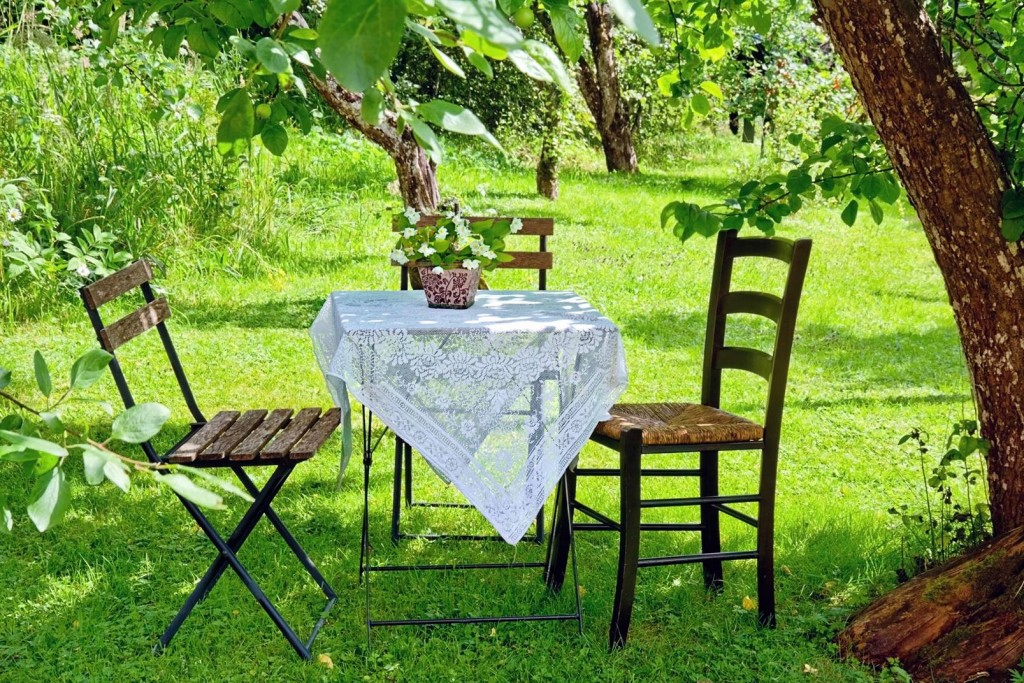 table jardin ombre