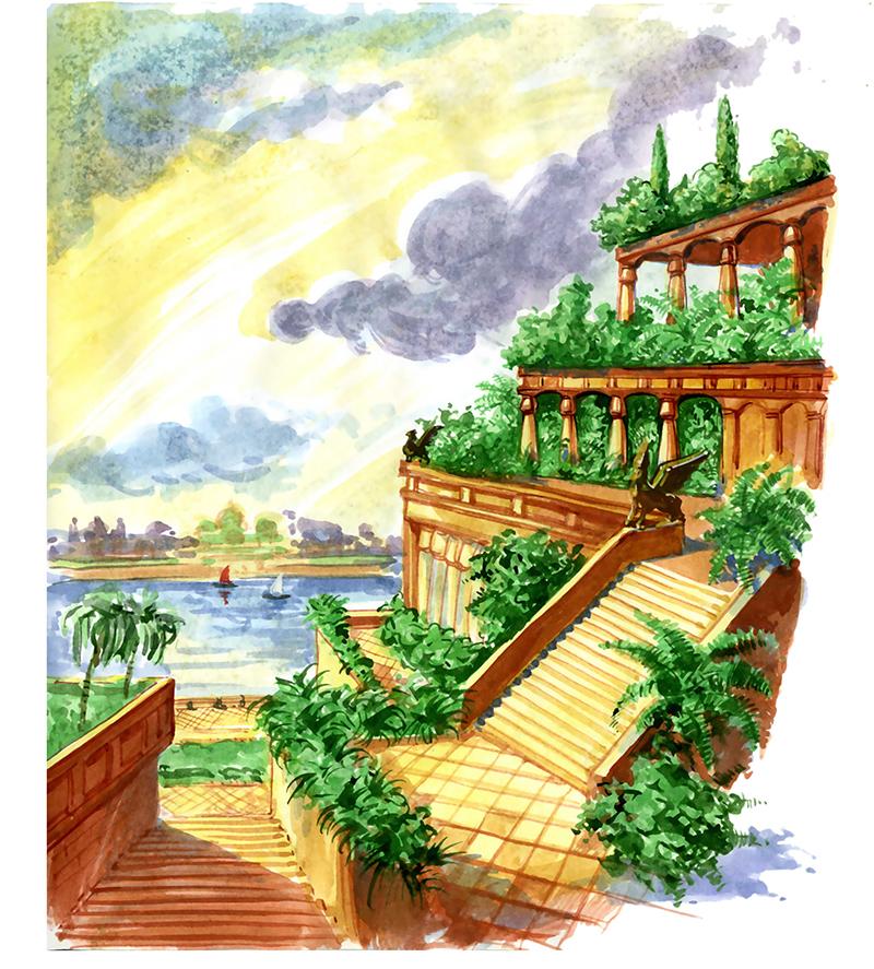Le jardin travers les ges de l 39 eden la gr ce blog Architecture perse