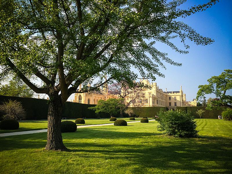 Jardin chateau de Lednice, Republique tcheque