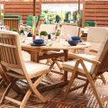 salon de jardin teck