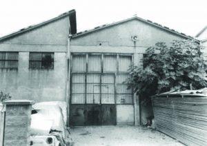 Le garage d'Ariello Bartoli dans les années 60