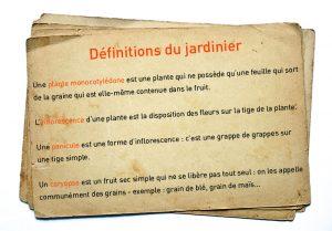 definitions du jardinier