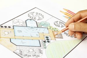plan architecte paysagiste jardin