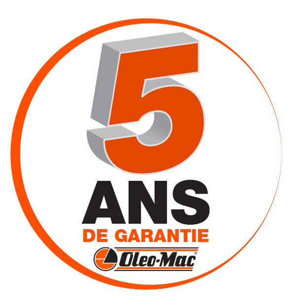 garanties 5 ans moteur carter Oleo-Mac
