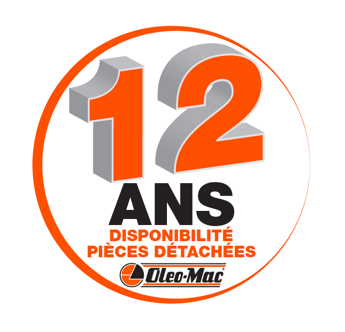 garanties pieces 12 ans Oleo-Mac