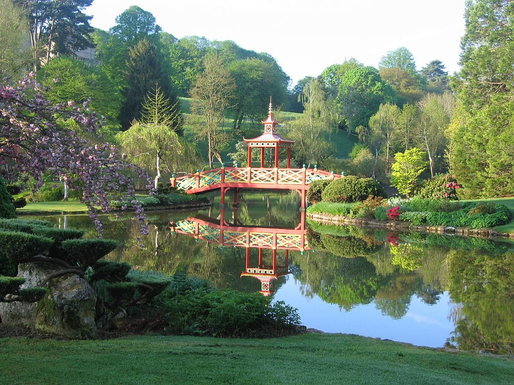 La d couverte des fabriques de jardin blog oleomac for Circuit jardins anglais