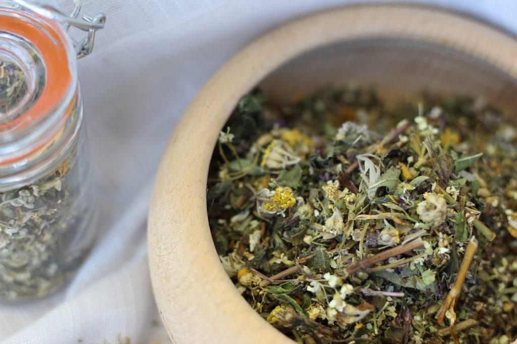 absinthe feuilles fleurs sechees