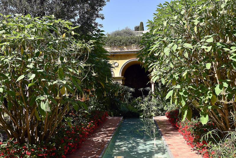 oleomac jardins Ephrussi jardin espagnol